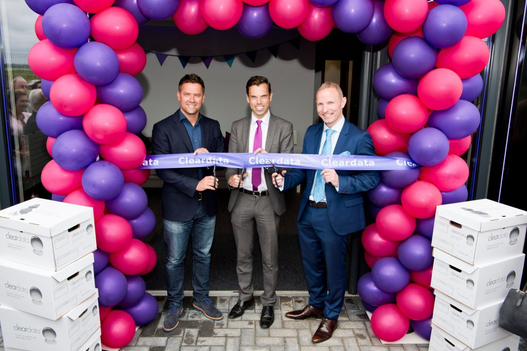 Cleardata Opening Event - Cutting the Ribbon