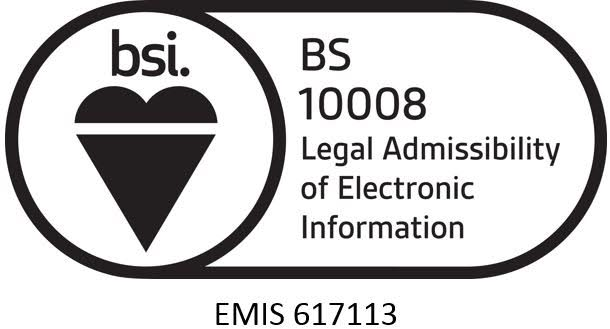 Cleardata is certified to BS 10008