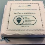 Cleardata Certified to BS 10008 Certification