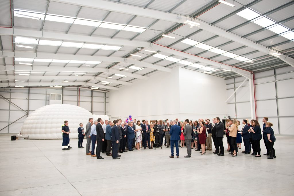 Cleardata Opening Event - Warehouse