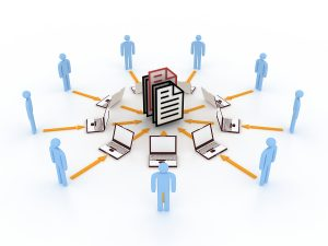 Cloud document file sharing