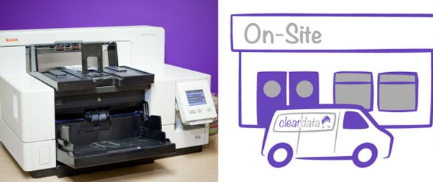 Cleardata scanner