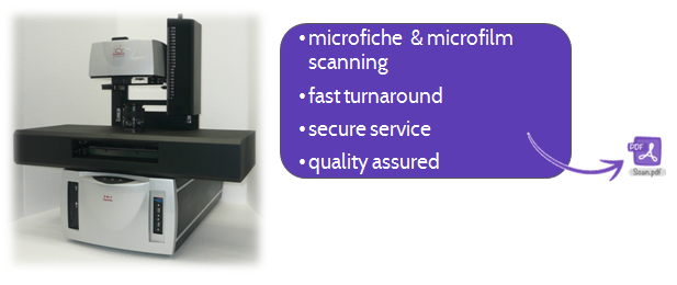 Microfiche Scanning and Microfilm Scanning Services