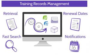 Training record management
